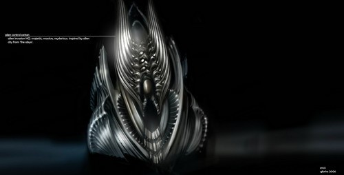 added    new concept art; 《命令与征服3》外星人和其他设定图