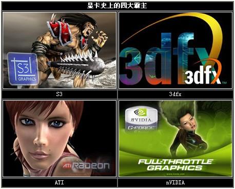 成就3D图形霸业!NVIDIA历代显卡回顾