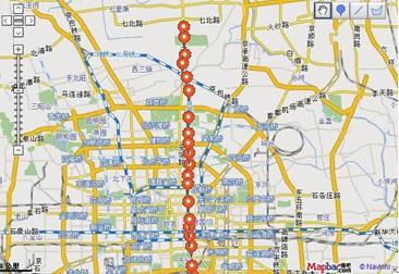 ,北京地铁5号线事故,北京地铁5号线线路图 -地铁5号线最新线路图 图片