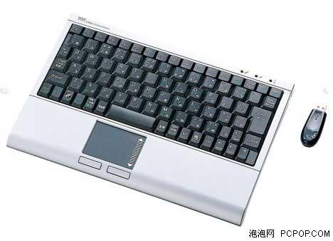 集成触控板 sanwa无线笔记本键盘新品图片