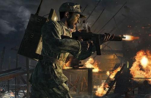 使命召唤5 游戏战争画面公开