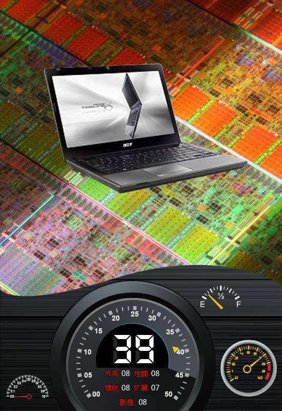 6小时续航双显卡本 Acer 4820TG评测
