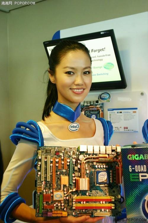 从台妹身段变化来看COMPUTEX CPU走势
