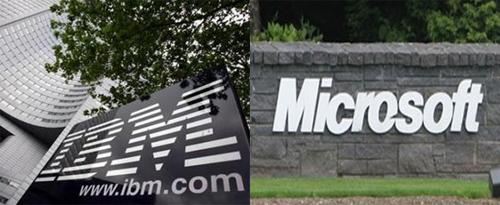 IBM、微软两巨头合作:硬软件VS软硬件