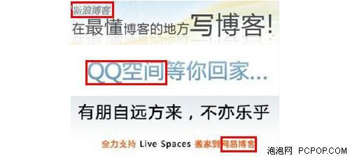 MSN Space博客关停 中国用户搬家调查