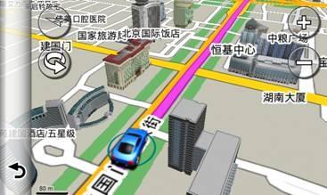 360度三维立体建筑图-3D实景导航Garmin3790t佳明GPS别有风味