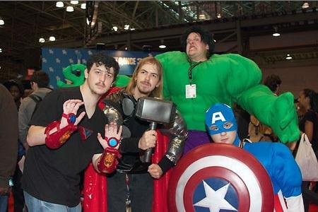 超赞美女cosplay 超赞美女cosplay!直击纽约动漫展