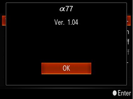 索尼新固件发布