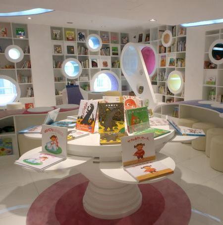 游乐园似的儿童书店