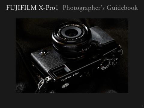 富士X-Pro1官方APP指导手册免费下载