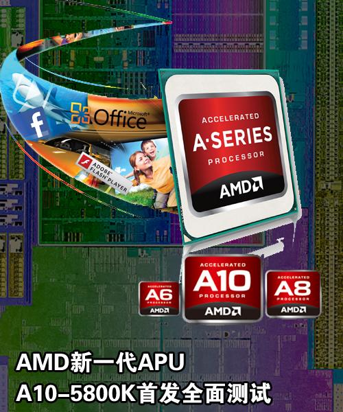 融合芯纪元!AMD全新APU首发全面测试