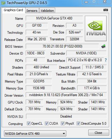 优化Kepler显卡支持 GPU-Z 0.6.5发布