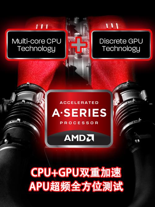 CPU+GPU双重加速!APU超频全方位测试