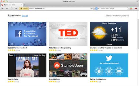 不仅仅是浏览 Opera 12.10正式版发布