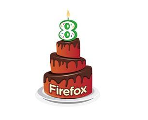 全球知名的火狐浏览器迎来8周岁生日!