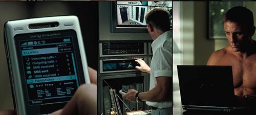 从爱立信到索尼:细数007电影中的手机
