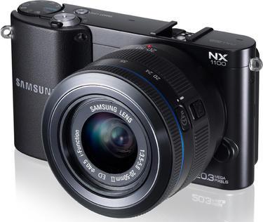 8张/秒连拍速度 三星NX1100正式发布