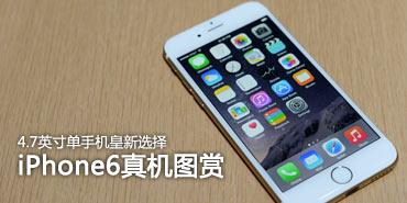 4.7英寸单手新选择!iPhone6真机图赏