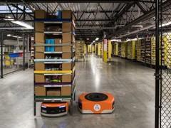 亚马逊使用1.5万自动机器人处理订单