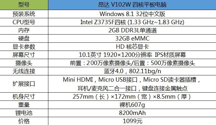 全高清大屏很实用 昂达V102W平板评测