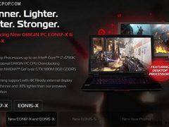 Origin宣布推出下一代EON系列游戏笔记本