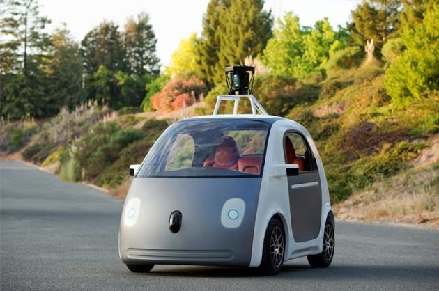 Google自动驾驶车 配备保护行人气囊