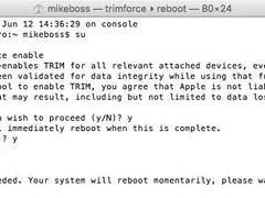OS X 10.11有望支持第三方固态硬盘TRIM