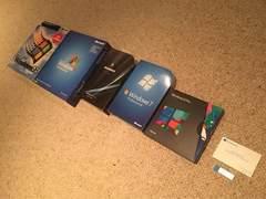 历代Windows包装盒对比 Win 10最有爱