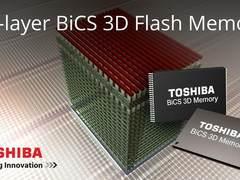 东芝/闪迪年底出BiCS 3D闪存 48层堆栈