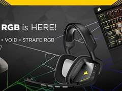 海盗船RGB外设新品 首个静音轴机械键盘