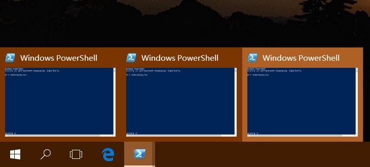 如何手动开关Windows 10任务栏预览窗口