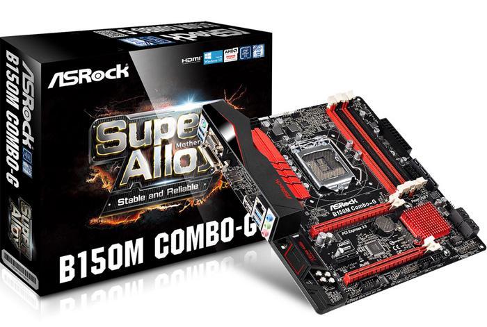 兼容DDR3 DDR4 华擎B150M Combo-G上市