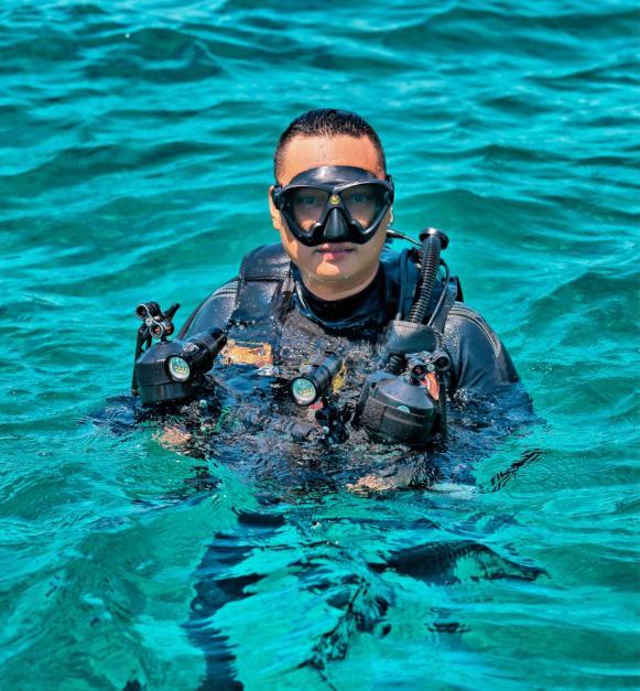 壮丽深蓝诗篇 谈谈索尼A7RII水下摄影