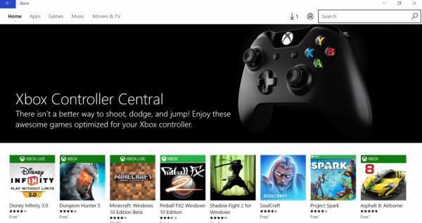 微软推出兼容Xbox手柄的优秀电脑游戏