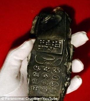 奥地利出土800年前手机 外星人留下的?