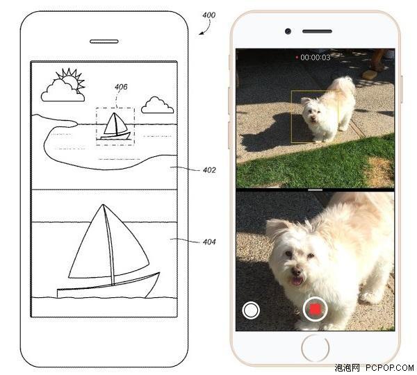 可独立使用 苹果申请双镜头手机专利