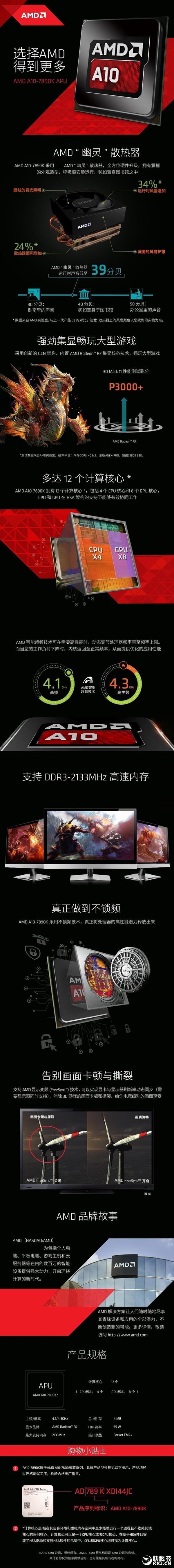 史上最强AMD APU:A10-7890K国内开卖
