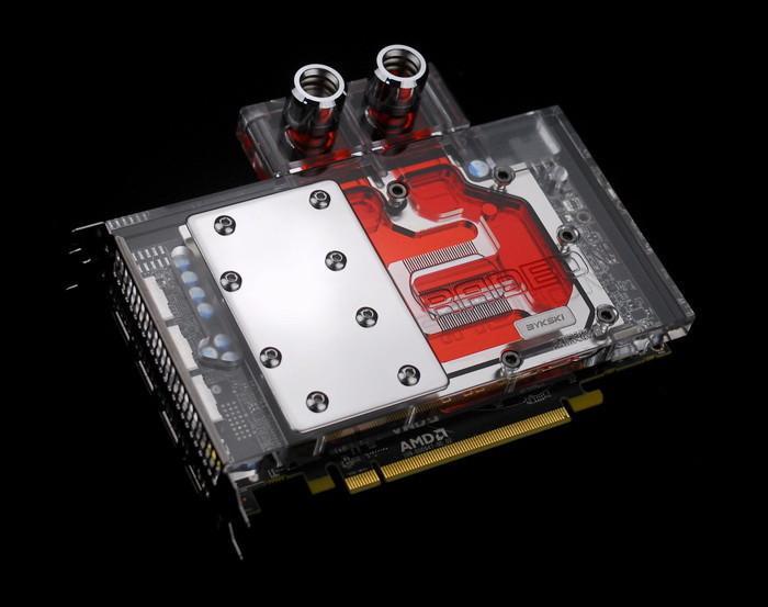 装逼必备利器,Bykski推出RX 480水冷头