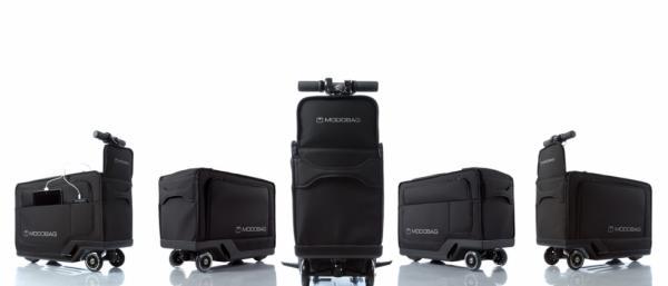 Modobag:一款能够载客的可行走行李箱