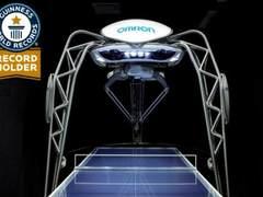"""日本推出世界首台""""乒乓球教练机器人"""""""