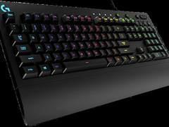 防水出色:罗技推G213机械手感键盘