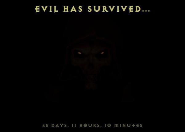 《暗黑2》高清版倒计时网站上线:恶魔复活