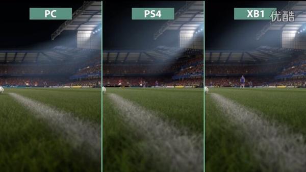 《FIFA 17》全平台画质对比:PC良心优化