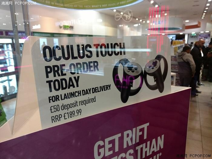 英国开始Oculus Touch手柄预购190镑