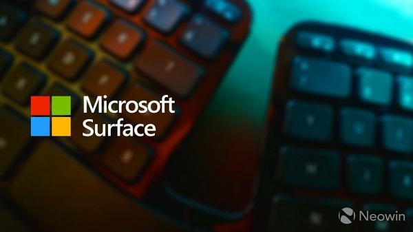 微软正在打造一款Surface人体工学键盘