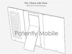 最新设计专利显示三星的三段式可折叠平板