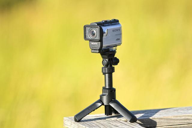 索尼酷拍X3000运动摄像机航拍大草原
