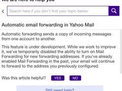 泄露至少5亿信息 雅虎已暂禁邮件自动转发