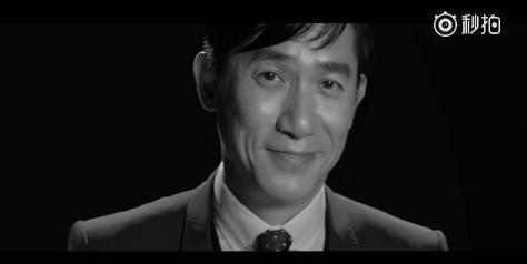 梁朝伟新片《双面人生》宣传小米Note2:帅