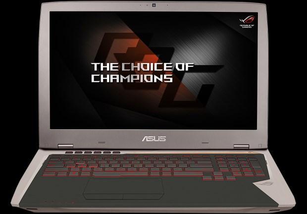 GTX1080 华硕玩家国度17寸电竞本G701VI